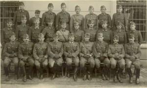 A 36/I. zlj. tisztikara 1940. október 9-én
